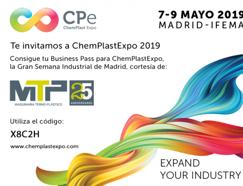 ¡Introduce el código y descarga tu Business Pass gratuito para Chemplast 2019!