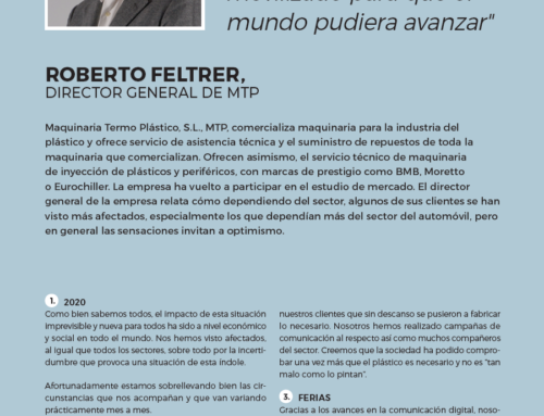 Entrevista a Roberto Feltrer, director general de MTP