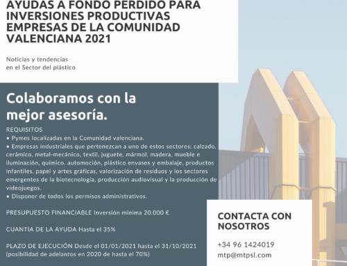 AYUDAS A LA INDUSTRIA CV 2021